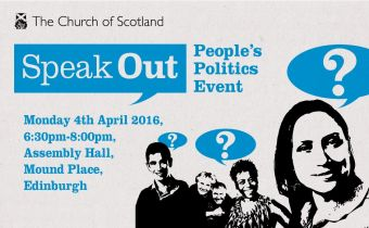 Speak Out politics hustings event