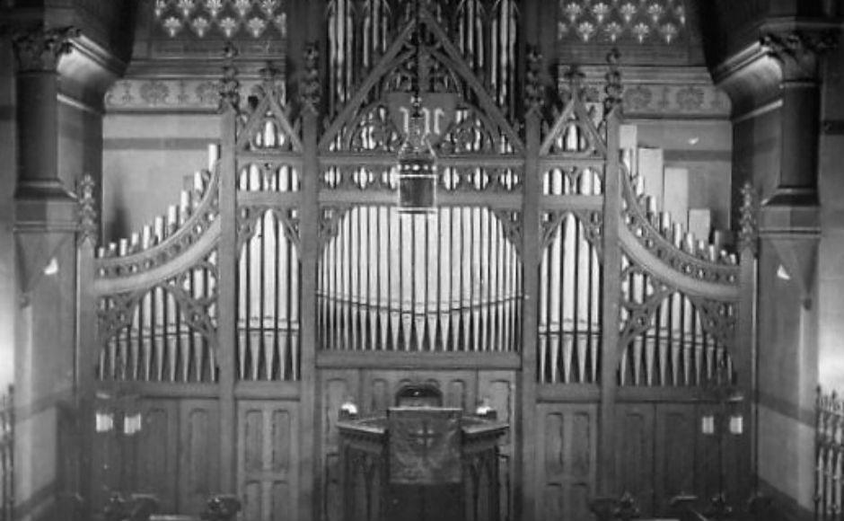 Anderston & St Peter's organ