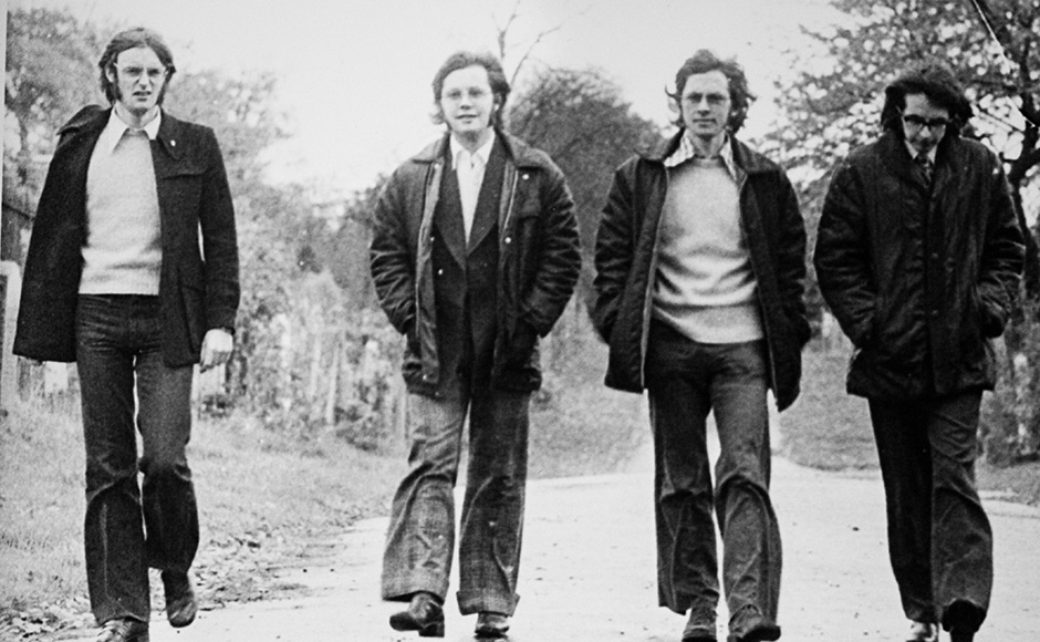 The band in 1974