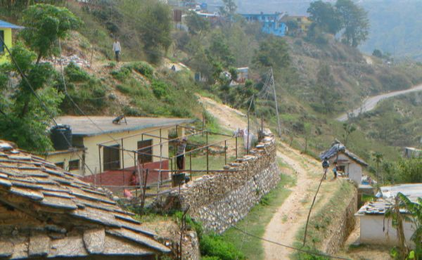 A view in Nepal