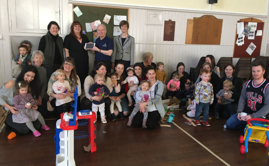 The Parents and Tots group