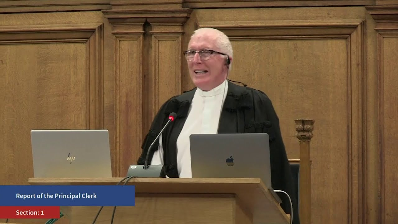 Report of the Principal Clerk - Friday, 2 Oct 2020