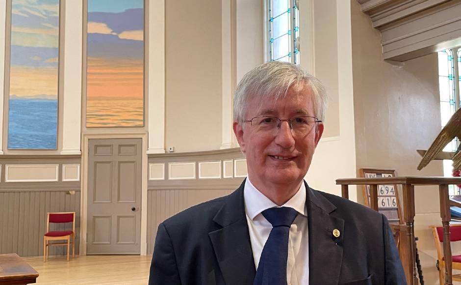 Rev Dr John Cowie