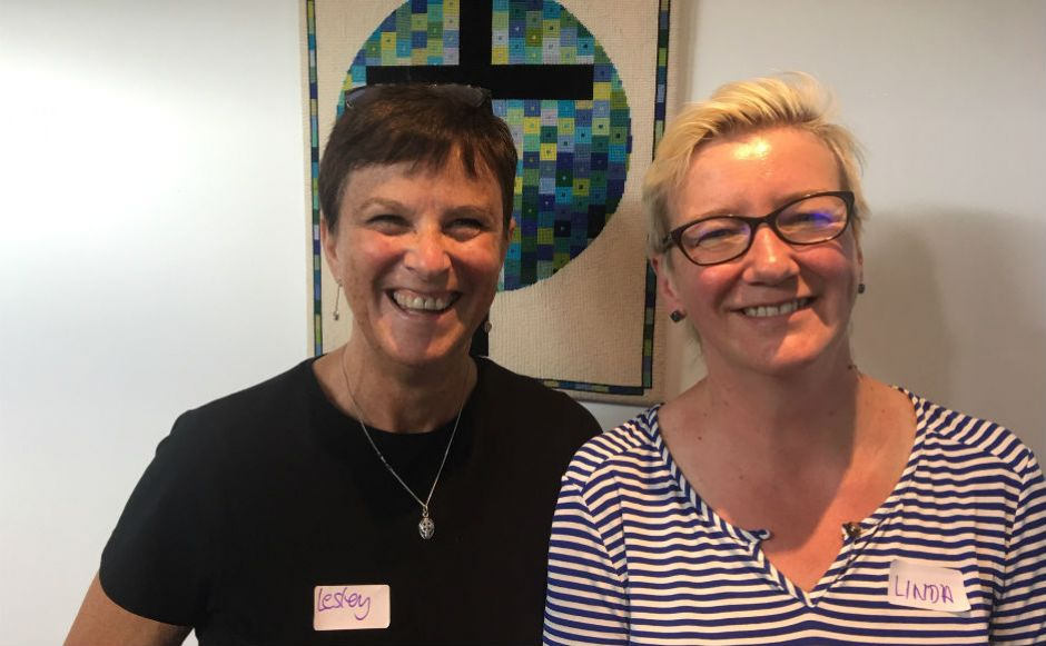 Expert speakers, Linda Rodgers, the CEO of Edinburgh Women's Aid, and Dr Lesley Orr, a historian and theologian who has researched domestic abuse in Christian settings