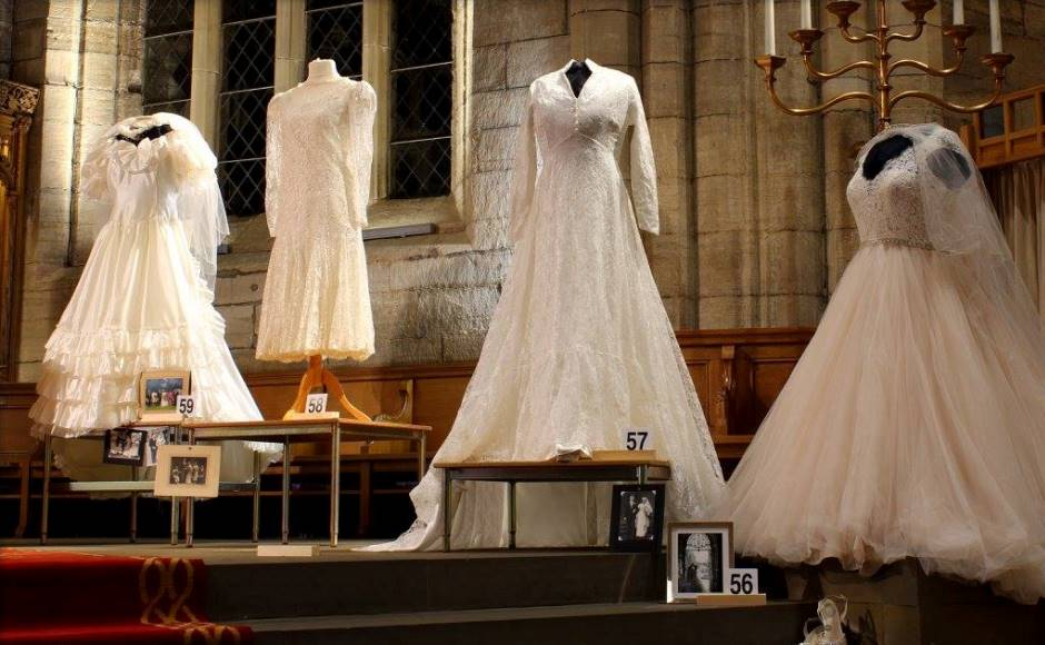 100 Dress Display Showcases Generations Of Weddings At St Michael S Linlithgow