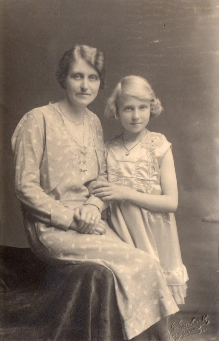 Rebecca Parker and mum