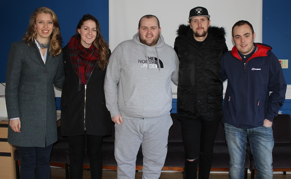 Youth Moderator visits St Paul's Youth Forum