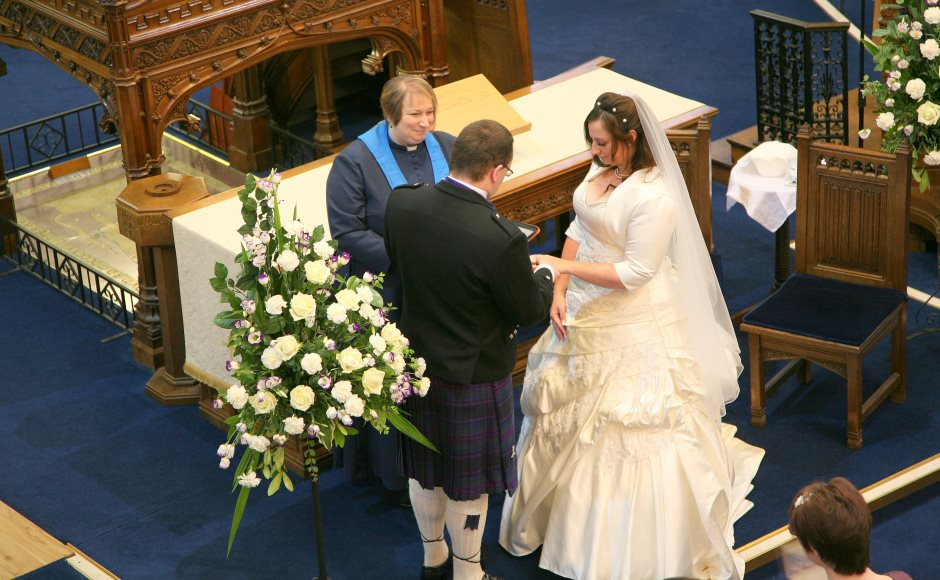 Rev MaryAnn Rennie Marries Kirsty And Michael Young