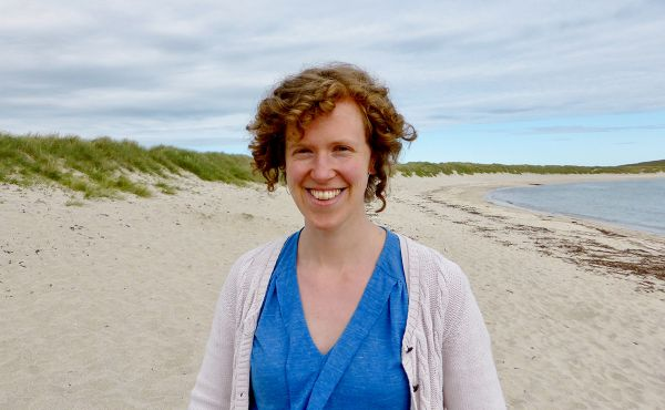 Ellen Weir, the new Children's and Youth Worker in Shetland
