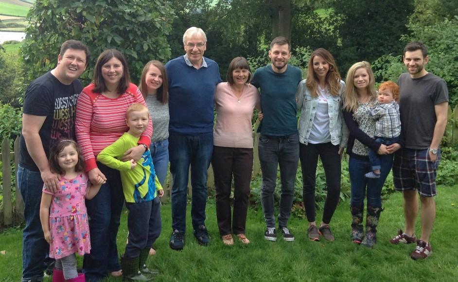 Colin with family