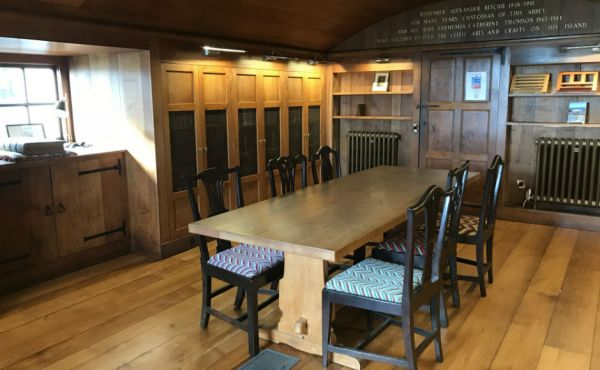 The restored Iona Library