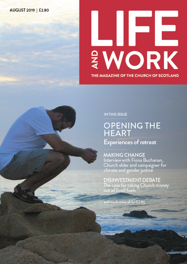 Life and Work August cover